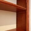 Libreria Beatrice Valeria: particolare del sistema di regolazione delle mensole