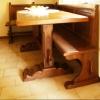 Tavolo Geltrude: Particolare del gambo del tavolo