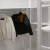 Armadio Kambo: Cabina armadio per sfruttare al massimo lo spazio, colorata bianco.