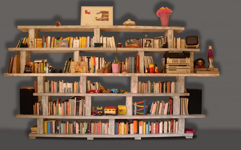 Libreria Milo: Libreria in legno massello.